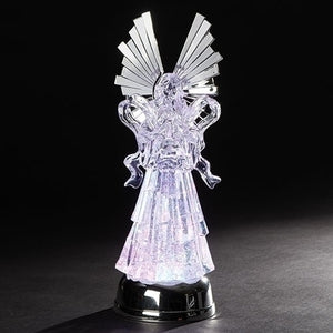 Lighted Swirl Angel-131406
