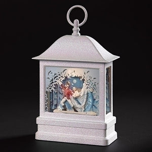 Roman Lighted Swirl Nutcracker Lantern-132272