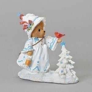 Cherished Teddies Christina White Christmas Figurine-132849