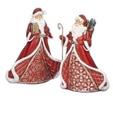 Roman St Nick Red & Gold Figurines-132871