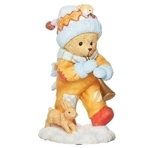 Cherished Teddies Gerogie Christmas Figurine-133481