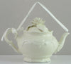Mud Pie Victorian Rose Teapot Ornament-15602