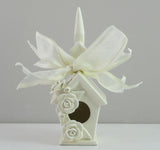 Mud Pie Victorian Rose Church Ornament-15605