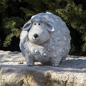 Roman's Pudgy Sheep Garden Statue - 19949