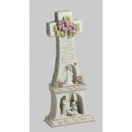 Nativity Angel Cross-Foundations by Karen Hahn