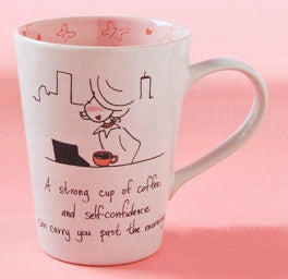 PhiloSophie's A Strong Cup Of Coffee Mug-4010191