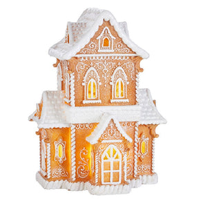 az Gingerbread Lighted House-4057844