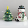 Julie Ueland  Snowman Sugar and Creamer Set-461016