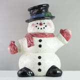Julie Ueland Snowman Cookie Jar-461067