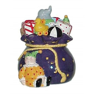Mary Engelbreit Believe Toy Bag Cookie Jar-612510