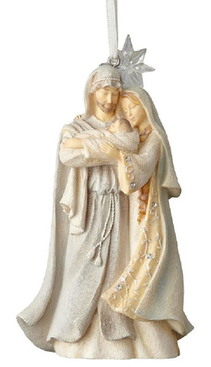 Foundations Holy Family with Star Ornament-6001149