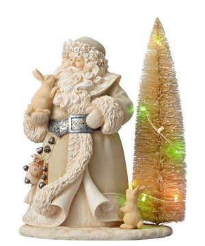 "Foundations Santa Spirits Be Bright, 12""-6001151"