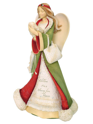 Heart of Christmas Angel, Children Are A Blessing - 6001400
