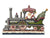 Jim Shore HWC Victorian Santa in Train – 6001427