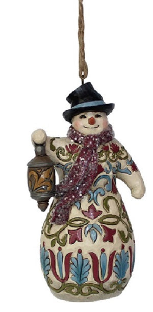 Jim Shore Victorian Snowman with Lantern-6001433