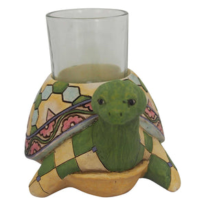 Jim Shore Heartwood Turtle Candle Holder - 6001607
