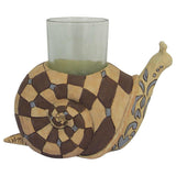 Jim Shore Heartwood Snail Candle Holder - 6001608