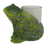 Jim Shore Heartwood Frog Candle Holder - 6001609