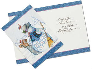 Jim Shore HWC Snowman Holiday Card Set – 6002245