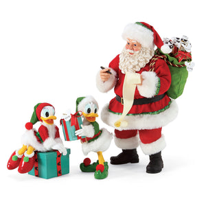 Department 56 Licensed Disney - Santa and His Helpers - 6006456