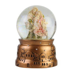 Heart of Christmas Holiday Holy Family Waterball - 6006525