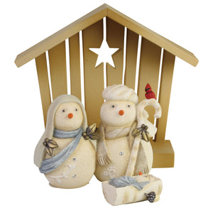 The Heart of Christmas™ Snowman Nativity – 6006537