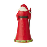 Jim Shore Heartwood Creek Santa With Cardinal Scene - 6006633