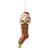 Jim Shore Dog in Stocking Ornament – 6007450