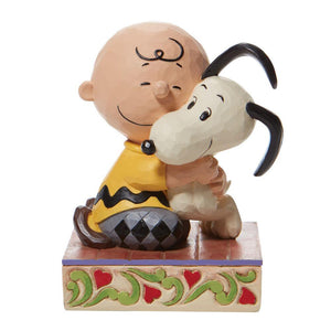 Peanuts by Jim Shore Charlie Brown Snoopy Hugging – 6007936