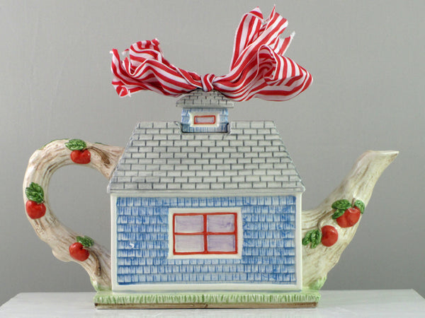 Mud Pie Apple Cottage Tea Pot-86313