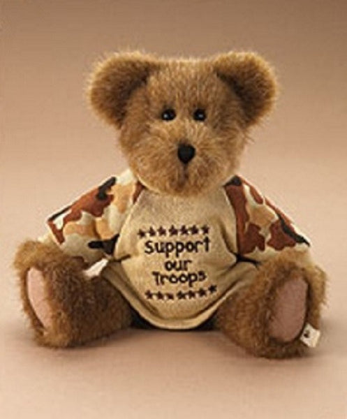 Boyds Bear Collection Military U.S. Hero-905006