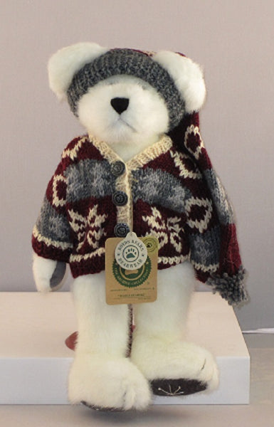 Boyds Bears Tomba Bearski  Plush Bear-912620