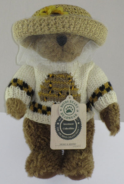 Boyds Bear Huney B. Keeper-91774
