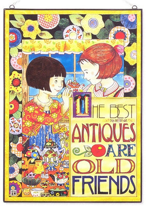 Mary Engelbreit The Best Antiques Are Old Friends-9765