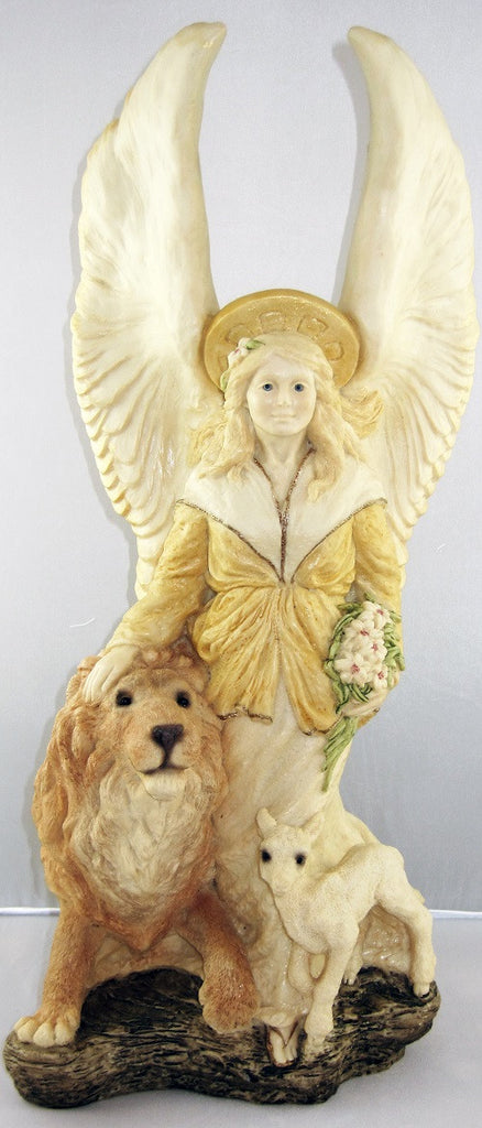 United Design Guardian Angel Lion Lamb Light Aa 068 Higgins