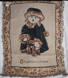 Boyds Bear Marlena Beargeaux and Dietrich afghan-ATBBMB
