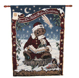 Boyds Bear Twas the Night Before Christmas Wall Hanging-HWBBTC