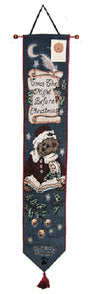 Boyds Bear Twas Night Before Christmas Bell Pull - TBPBTC