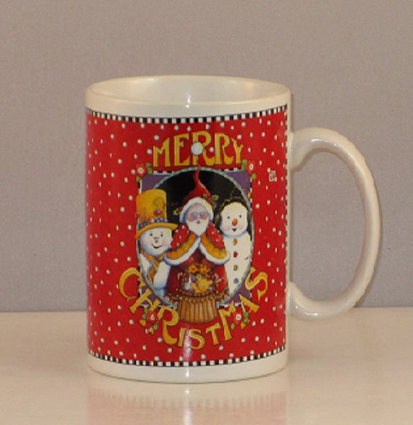 Mary Engelbreit Santa and the Snow Boys Mug-YLSSB