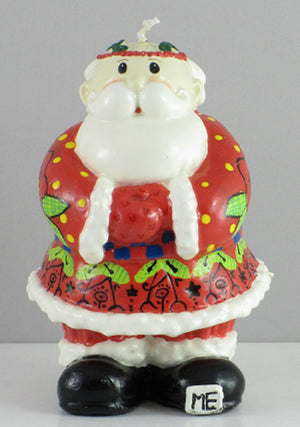 Mary Engelbreit Santa Claus Candle-745693