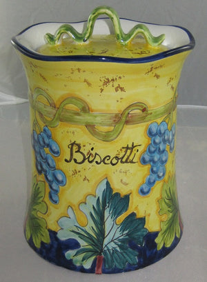 Intrada Tall Biscotti Grape Jar-MAJ7675
