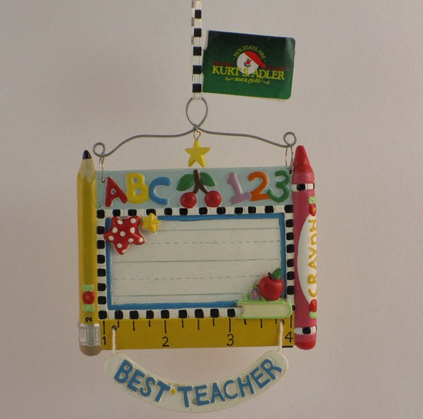 Mary Engelbreit Hanging Ornament Best Teacher-ME0348