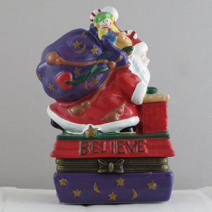 Kurt Adler Mary Engelbreit Believe Box-Me 165