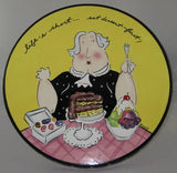 Just Dessert Pedestal Dessert Plate By Mud Pie-7253