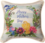 Manual Woodworkers Happy Mother Day Pillow - SDPHMB