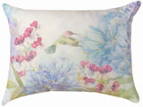 Manual Woodworker Nature's Grace Irises Blueflowers Pillow-SHNGIB