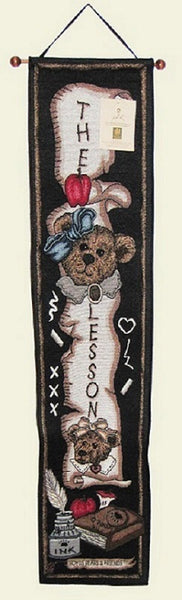 Boyd's Bear The Lesson Bell Pull-TBPBTL