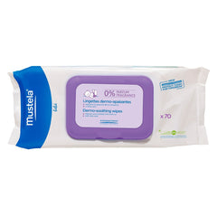 mustela-dermo-soothing-wipes-unscented-70s Mustela Dermo Soothing Wipes UnScented 70s - Trendy Strollers