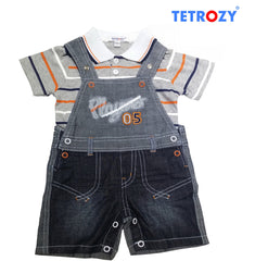 tetrozi-boys-overalls-and-t-shirt Tetrozy Boy's Overalls and T-Shirt - Trendy Strollers
