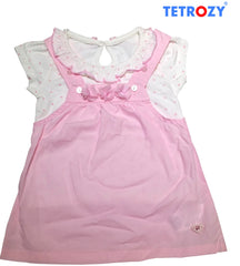 tetrozy-girls-t-shirt-overall Tetrozy Girl's T-Shirt & Overall - Trendy Strollers